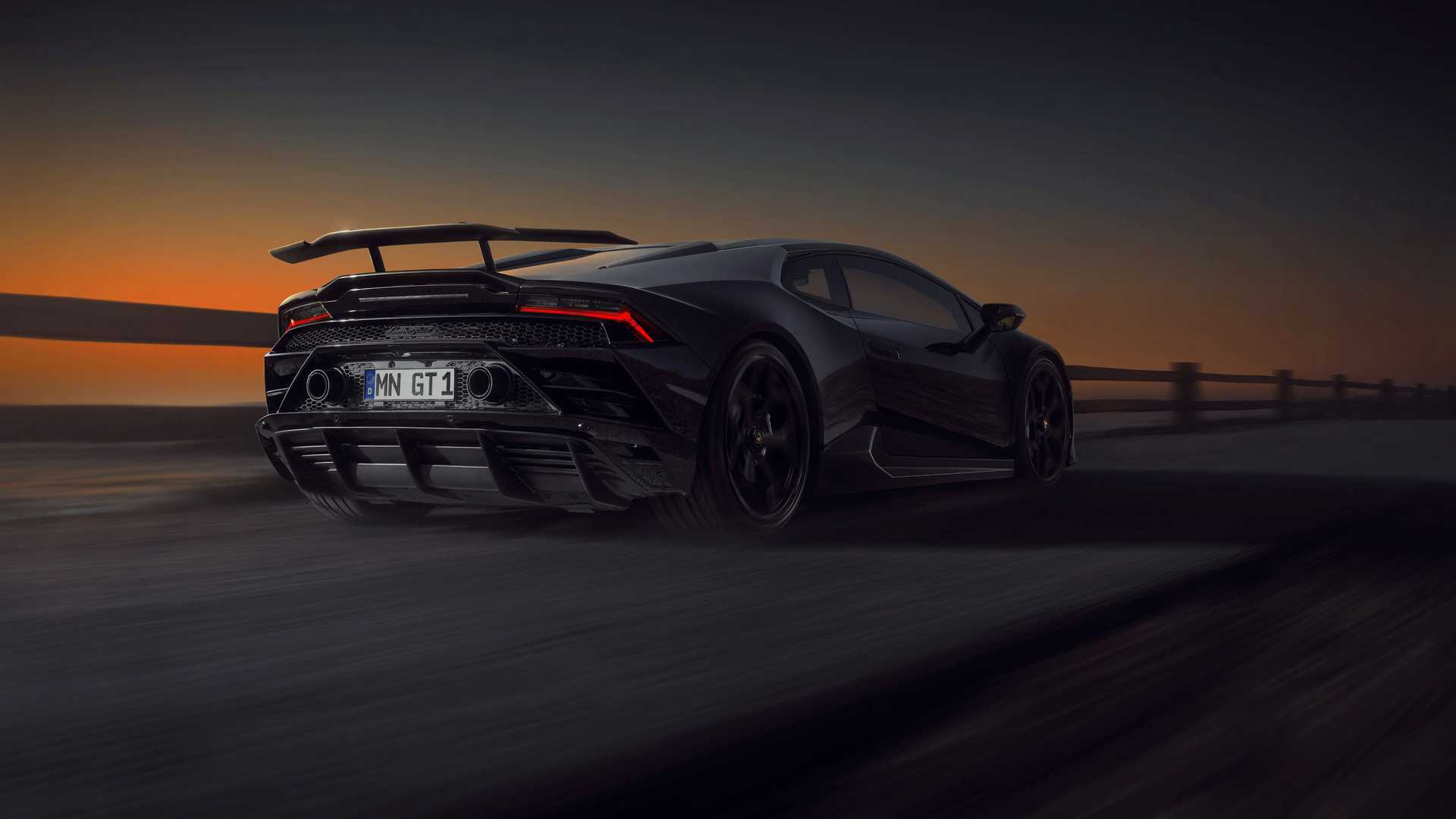 Lamborghini Huracan Evo By Novitec Rear View