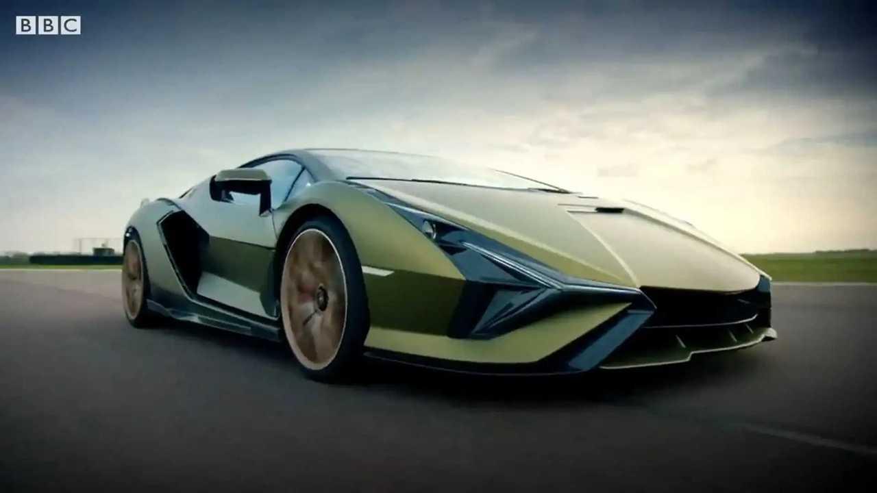 Lamborghini Sian Top Gear