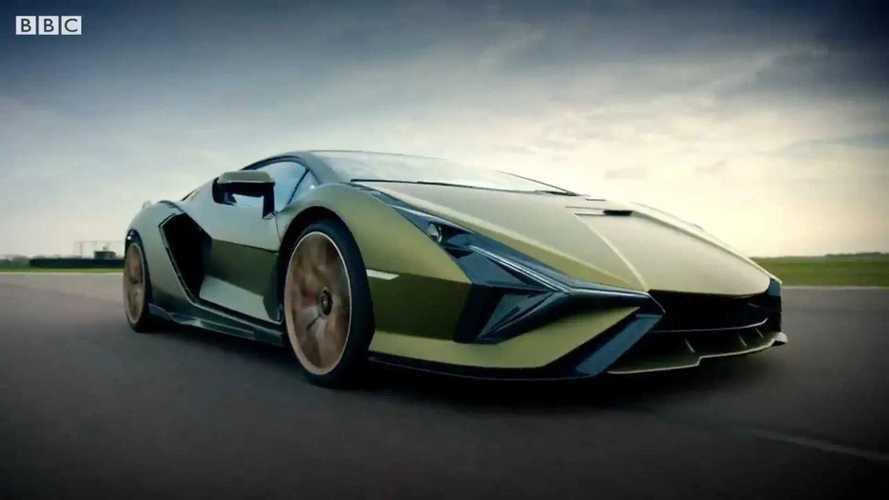Videó: Így repeszt végig a Top Gear tesztpályáján a Lamborghini Sian