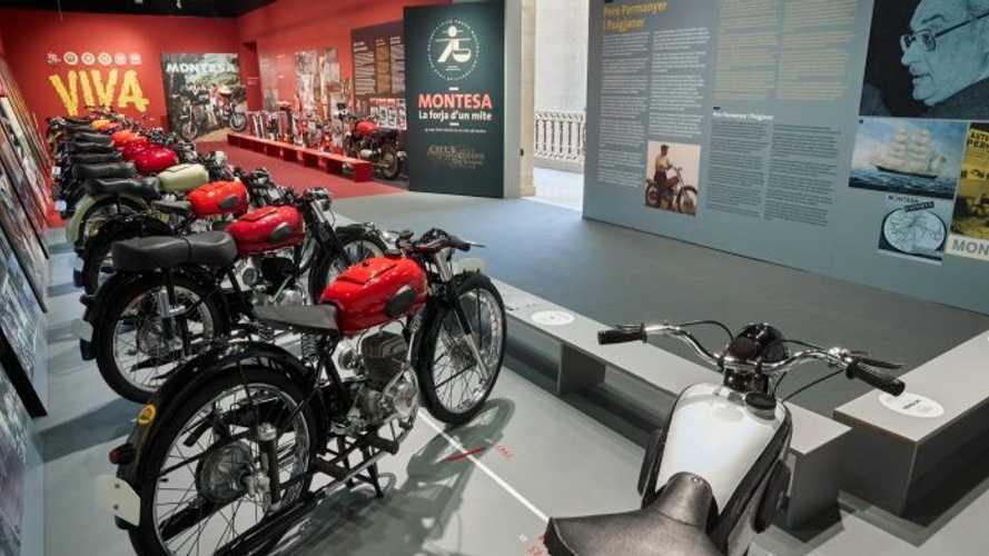 Montesa 75th Anniversary Museum Exhibit Reopens
