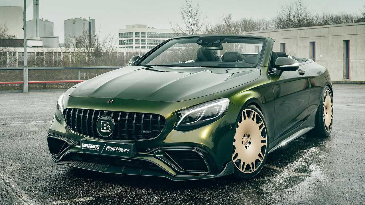 Fostla hat ein Mercedes S 63 Cabrio von Brabus optisch getunt