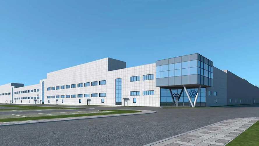 VW beginnt mit Bau von drittem E-Auto-Werk in China