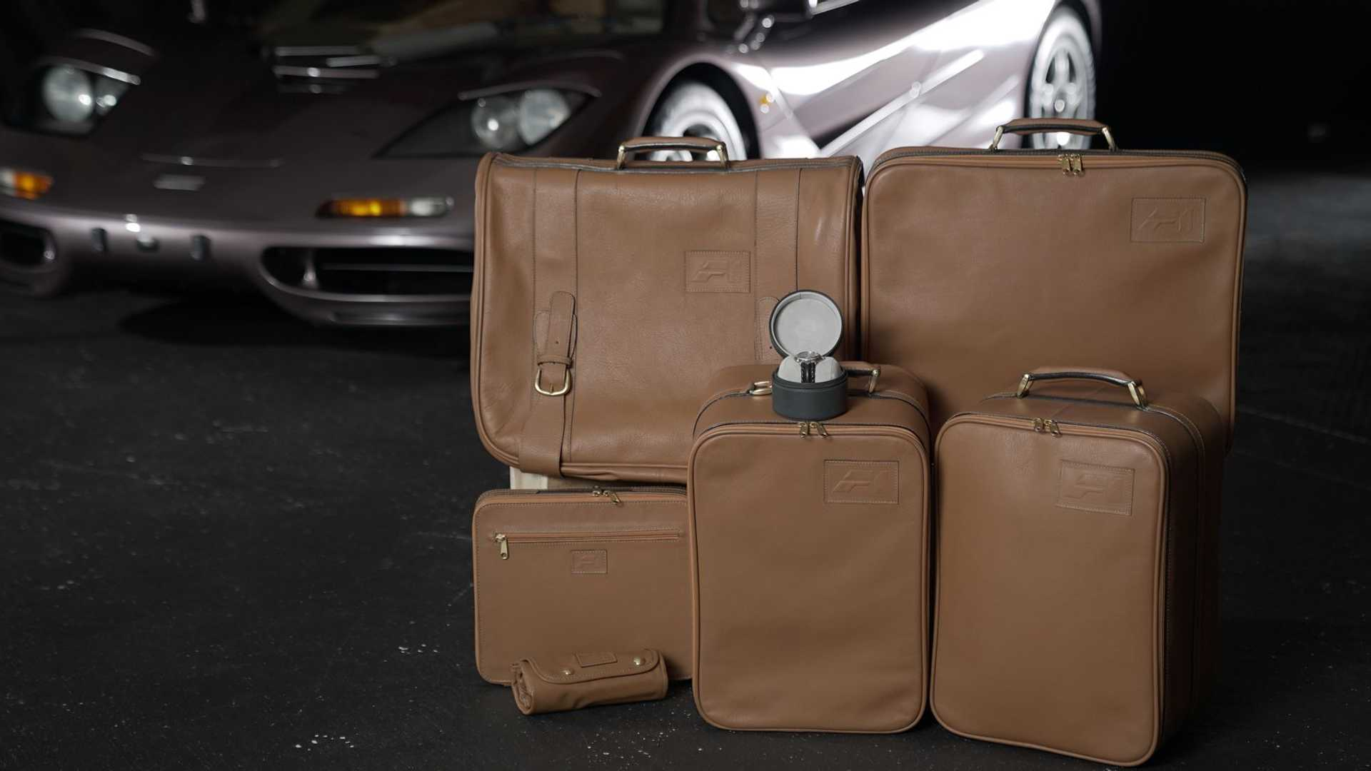 1995 McLaren F1 Gooding And Company Auction 2020 Luggage
