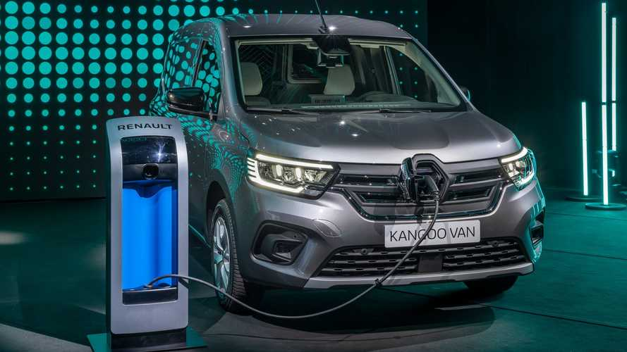 Renault Presents New Kangoo Van E-TECH Electric