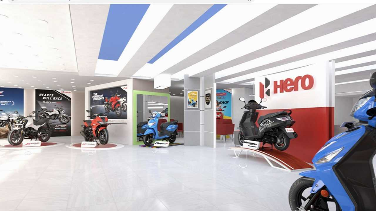 Browse For Your Next Bike In Hero MotoCorp's Virtual Showroom