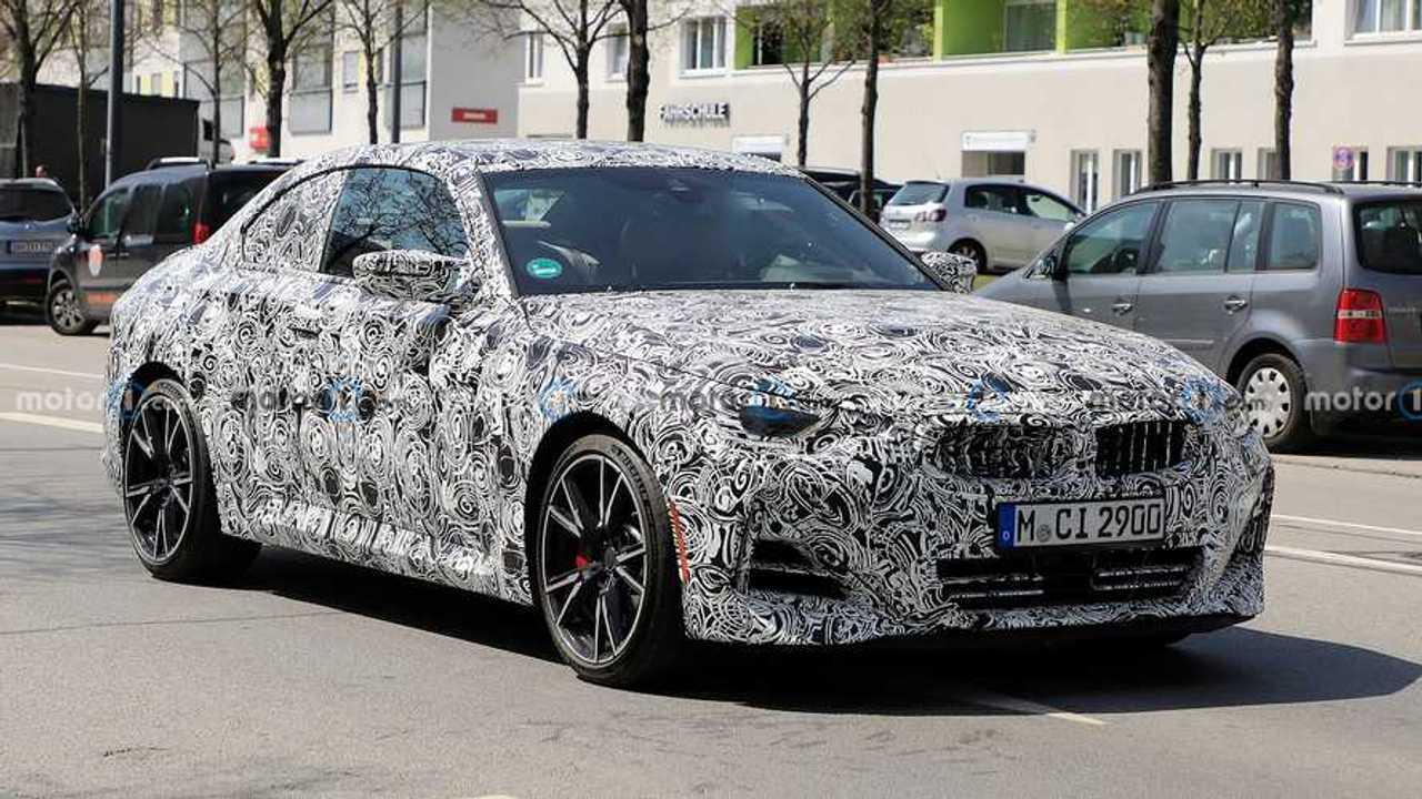 BMW 2 sorozat Coupe Spy Shots