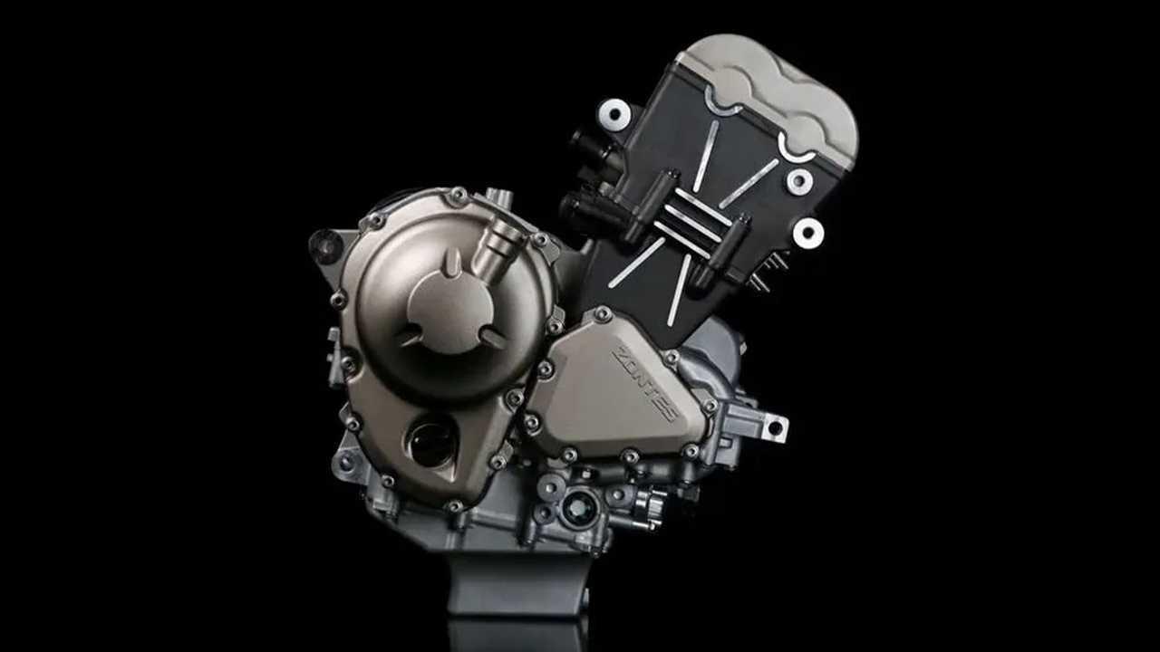 Zontes Triple-Cylinder Engine - Main