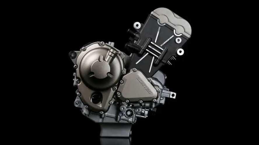 Zontes Triple-Cylinder Engine