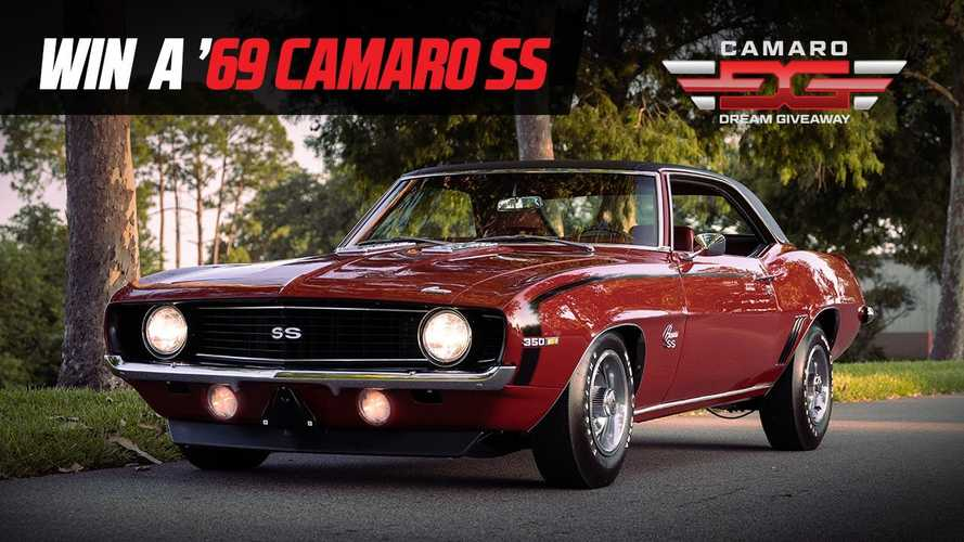Enter For A Chance To Win This Amazing Classic Chevy Camaro SS