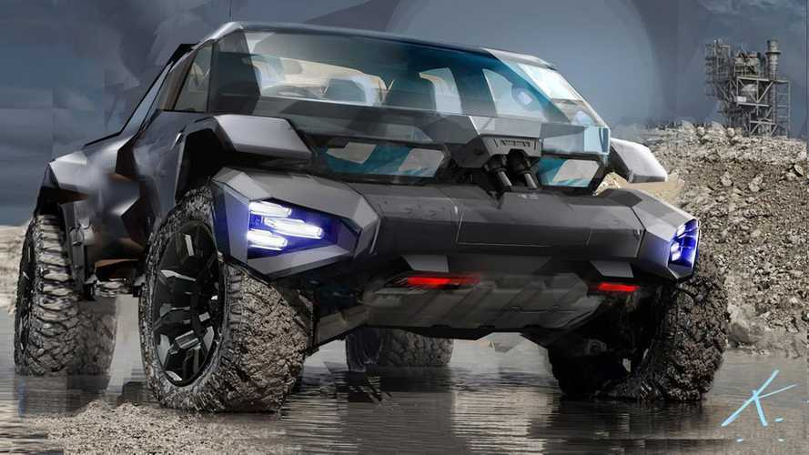 GM Design Imagines A Rad Off-Roader For The Future