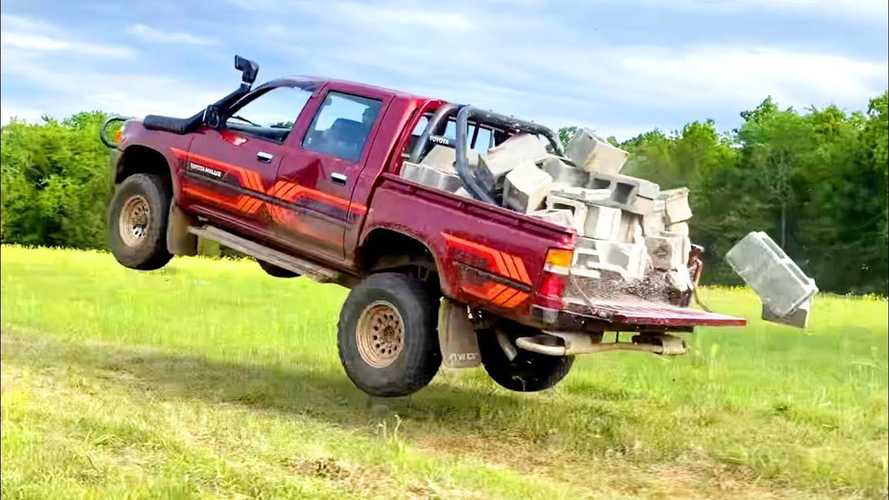 Grueling Toyota Hilux Durability Test Is A Car's Worst Nightmare
