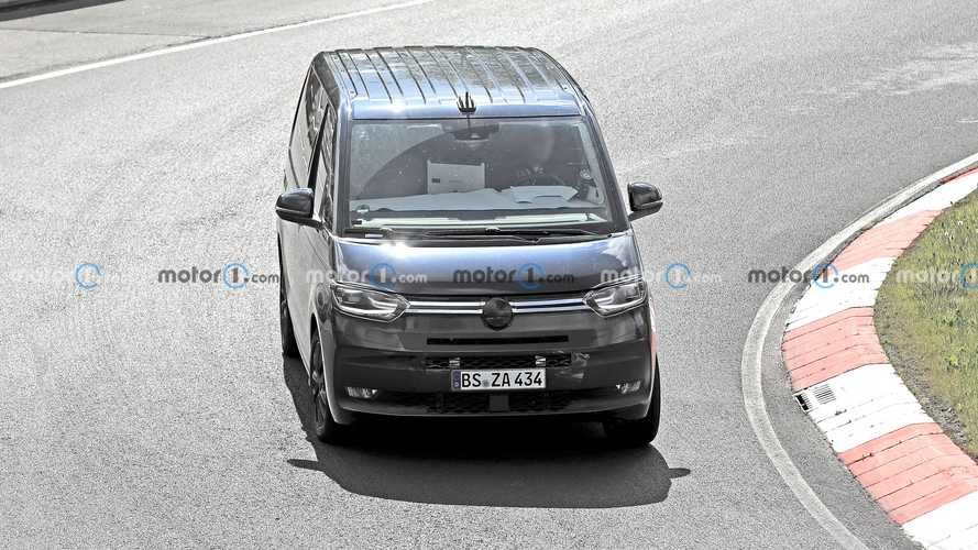 VW T7 new spy photos
