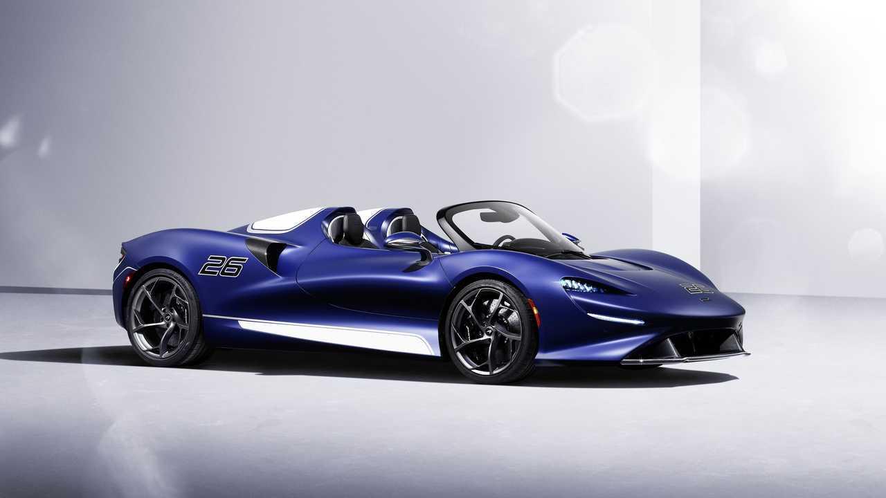 Nueva versión con parabrisas del McLaren Elva