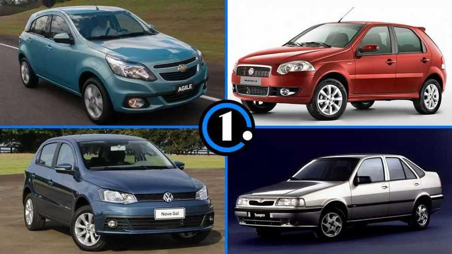 Os facelifts de carros que não duraram muito tempo no mercado