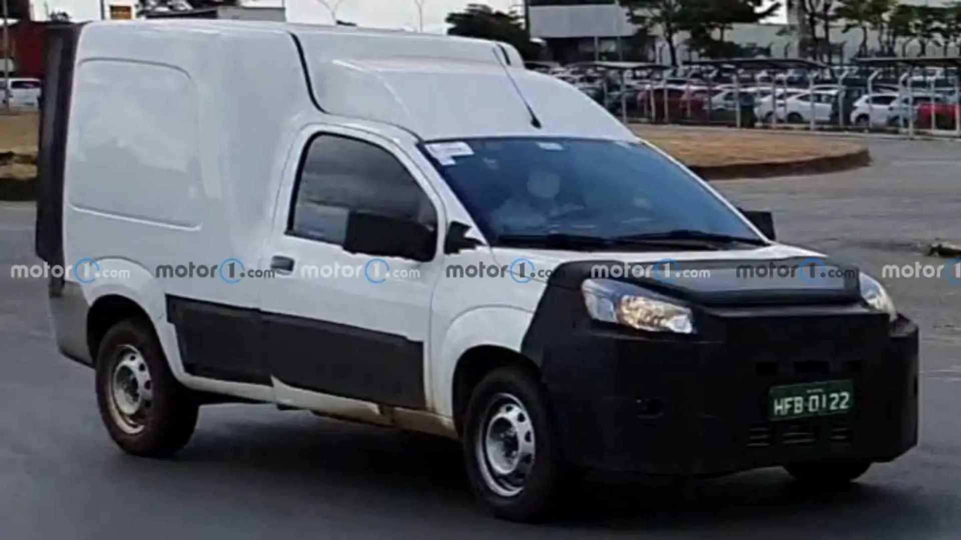 Nuovo Fiat Fiorino 2022 - Visualizzazioni