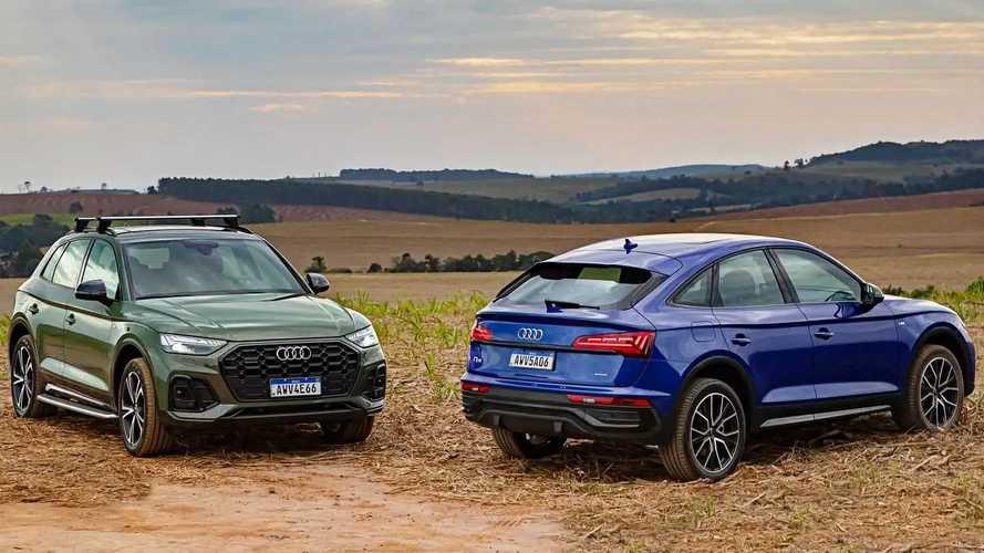 Primeiras impressões Audi Q5 e Q5 Sportback: Meio-campo alemão