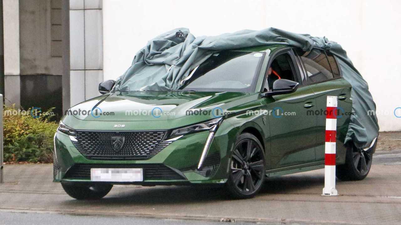 So sieht der neue Peugeot 308 für 2021 ohne Tarnung aus!