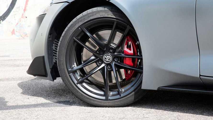 Toyota Supra: llamada a revisión por la distancia de frenado