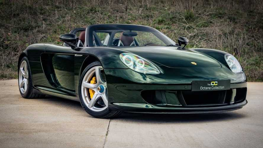 Dark Olive Green Porsche Carrera GT Is A One-Off Beauty
