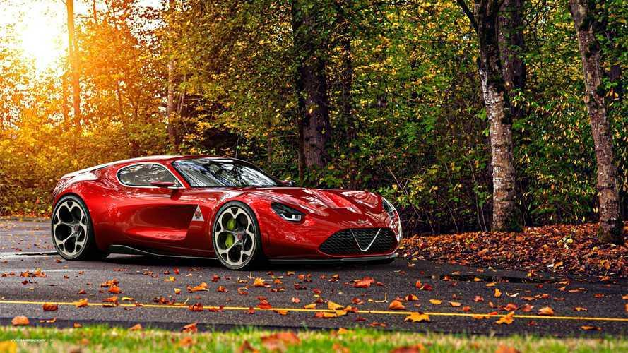Alfa Romeo TZ4 renderings