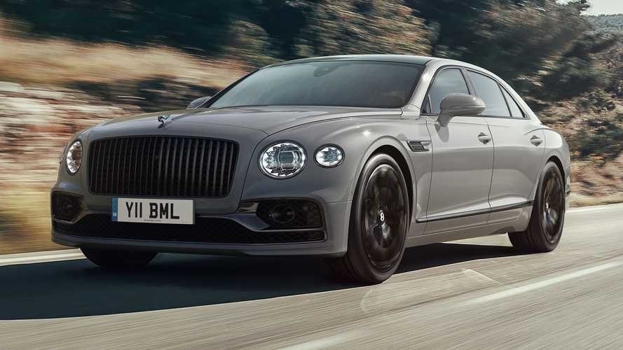 2022 Bentley Flying Spur has more standard tech and offers more colours