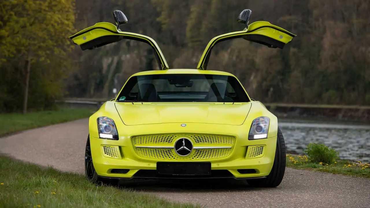 Mercedes SLS AMG Electric Drive (2013)