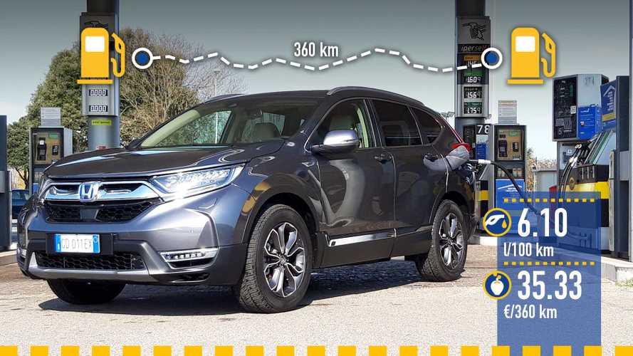 Uji Konsumsi Honda CR-V Hybrid 2021: Boros tapi Kemasannya Bagus