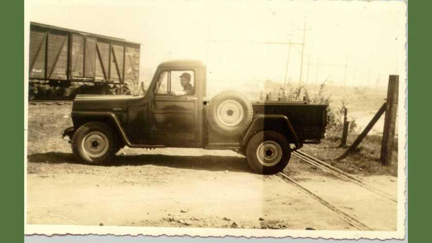 História  - A chegada do Jeep no Brasil