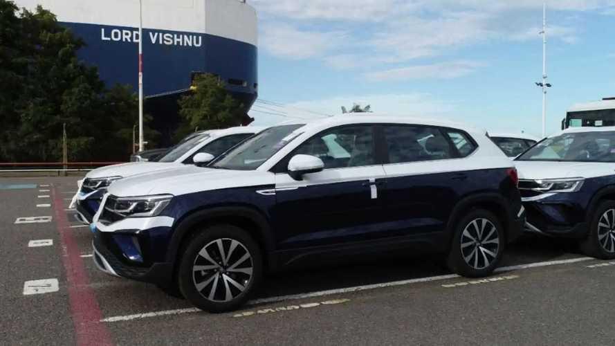 VW Taos 2022 já começa a sair da Argentina com destino ao Brasil