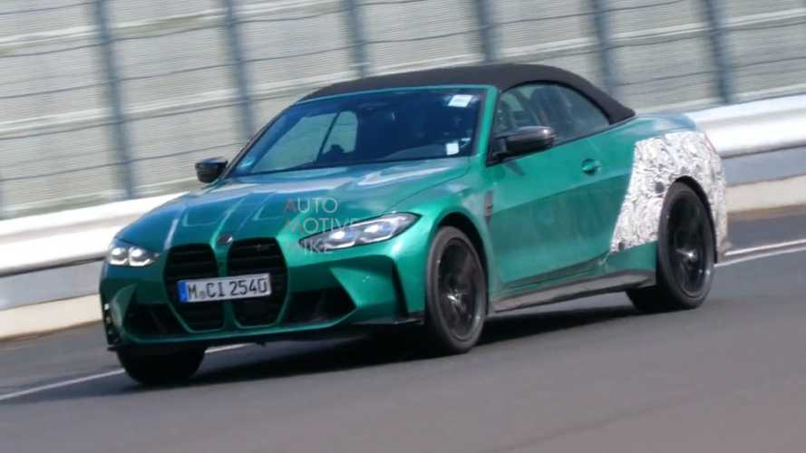 Aksi BMW M4 Convertible Terekam Spy Video