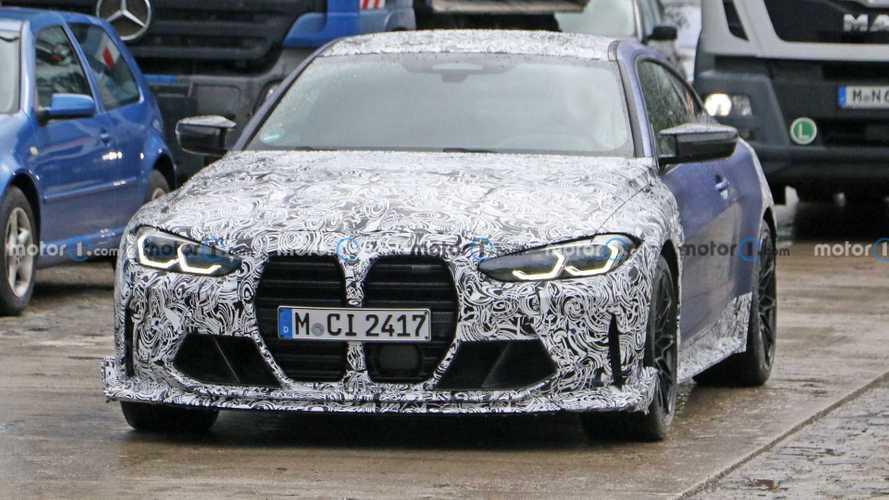BMW M4 CSL Spy Photos