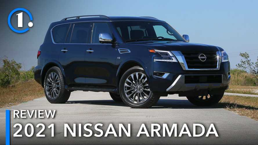 2021 Nissan Armada Review: Truckin' With More Tech