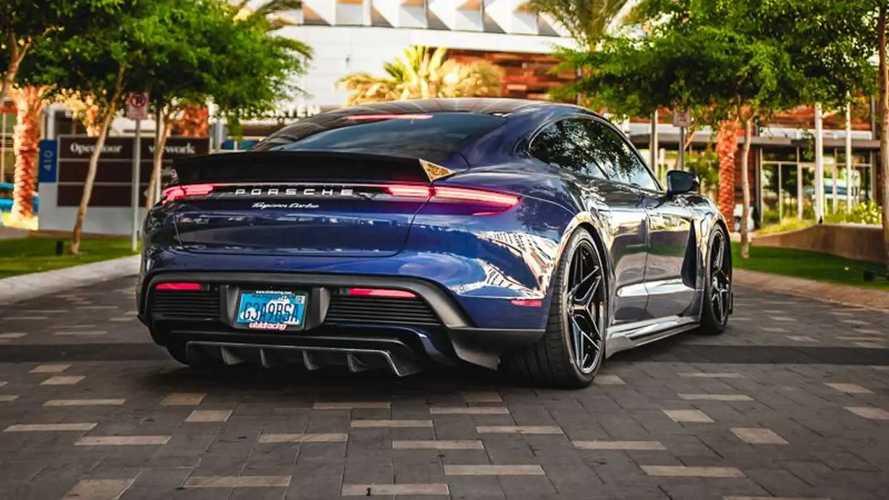Vivid Racing Carbon Aero Kit For Porsche Taycan Cranks Up The Aggression