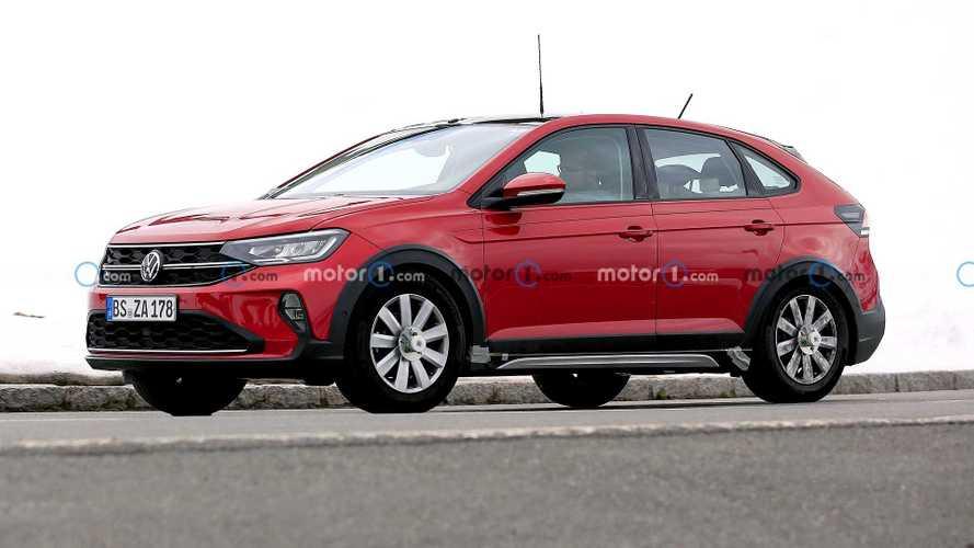 Новый кроссовер Volkswagen Taigo застукали без камуфляжа