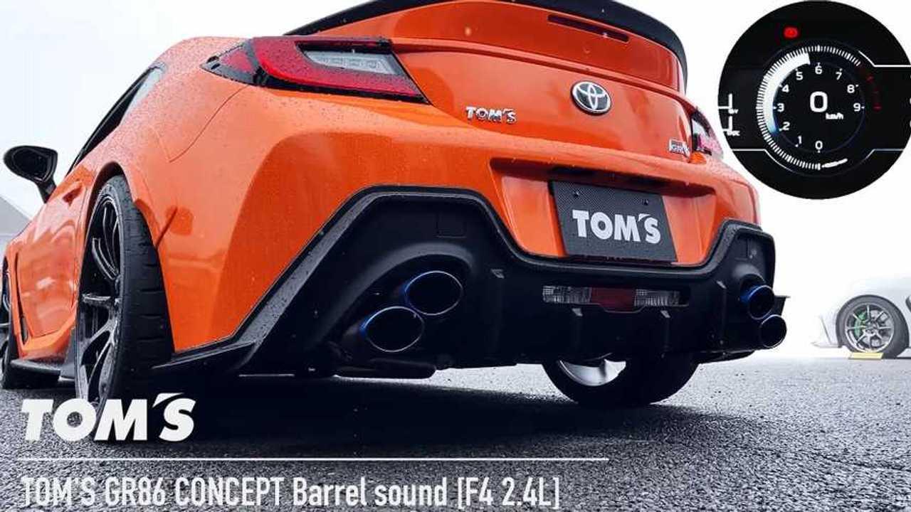TOM's Racing Toyota GR 86
