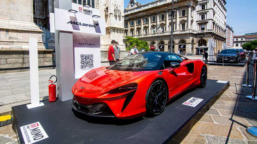 McLaren Artura al MIMO 2021