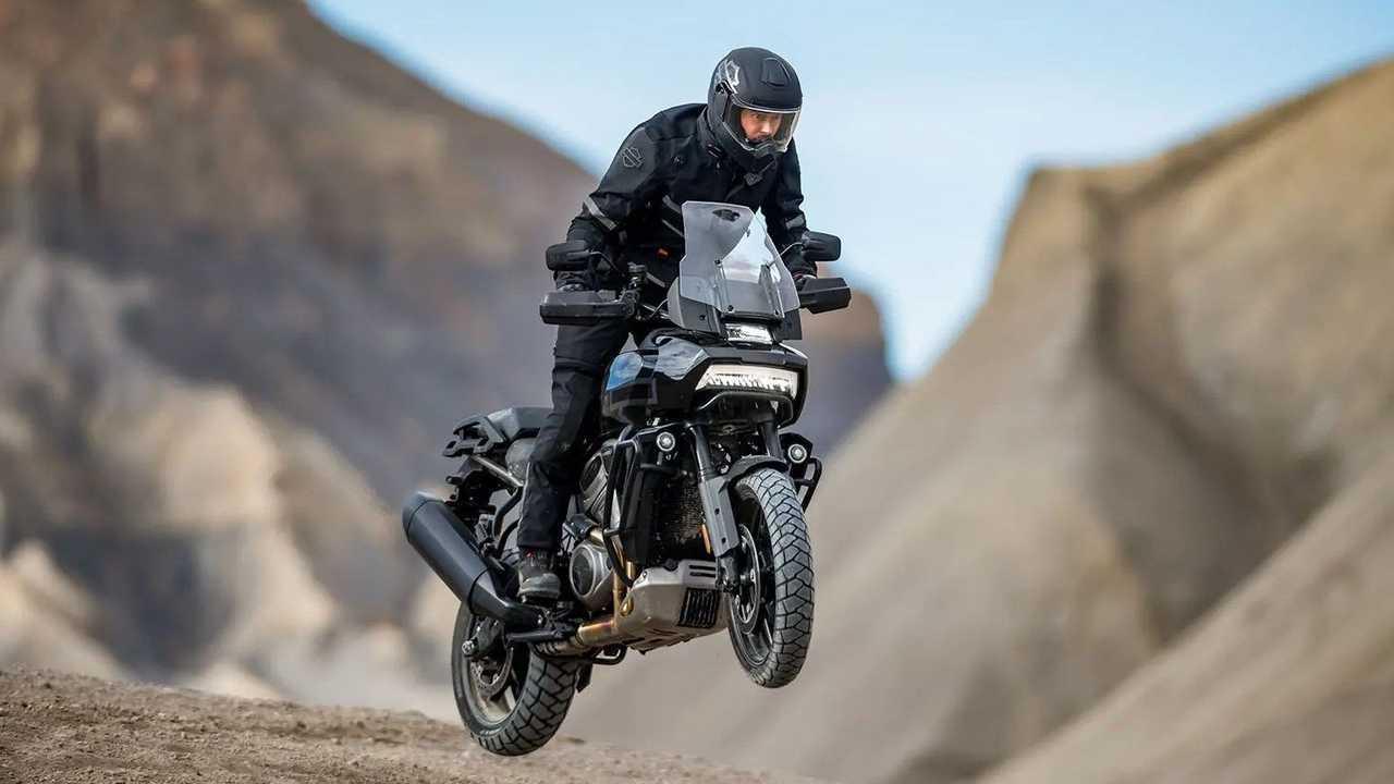 2021 Harley-Davidson Pan America - Jump