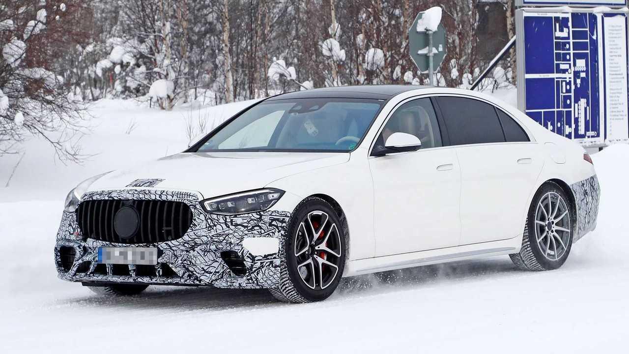 Plug-in hibrit motorlu yeni 2021 Mercedes-AMG S63