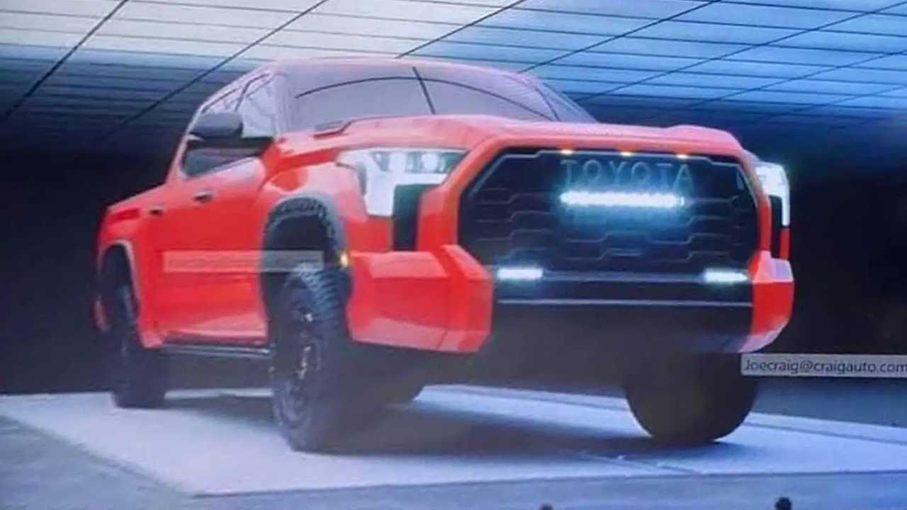 2021 Toyota Tundra Sızıntı Görüntüleri