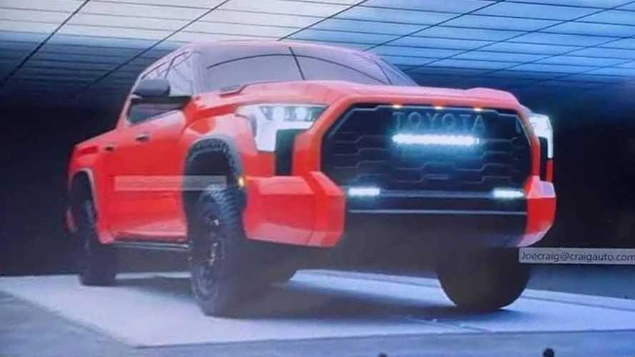 Yeni nesil Toyota Tundra sızdırıldı!