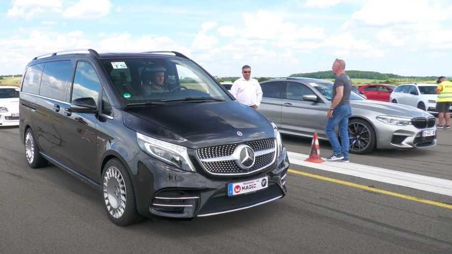 Vidéo - Avez-vous déjà vu un Mercedes Classe V équipé d'un V8 ?