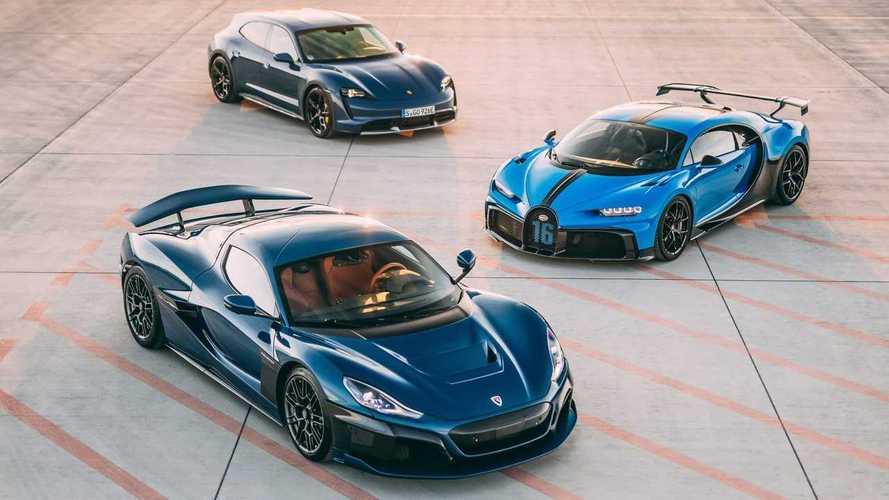 Хорватский электромобильный стартап захватил компанию Bugatti