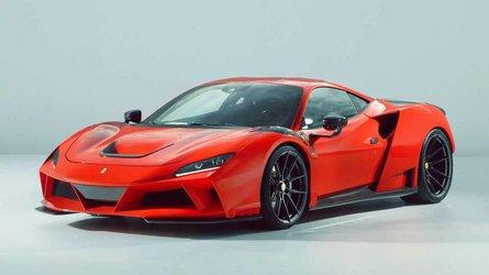 Ferrari F8 Tributo gets widebody treatment, 818 bhp from Novitec
