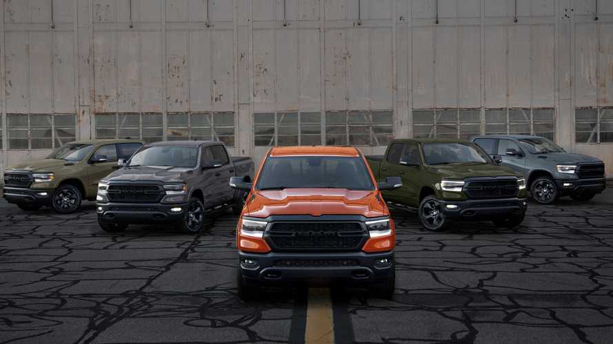 Ram 1500 Built To Serve Edition Debuts Final Models In Orange, White