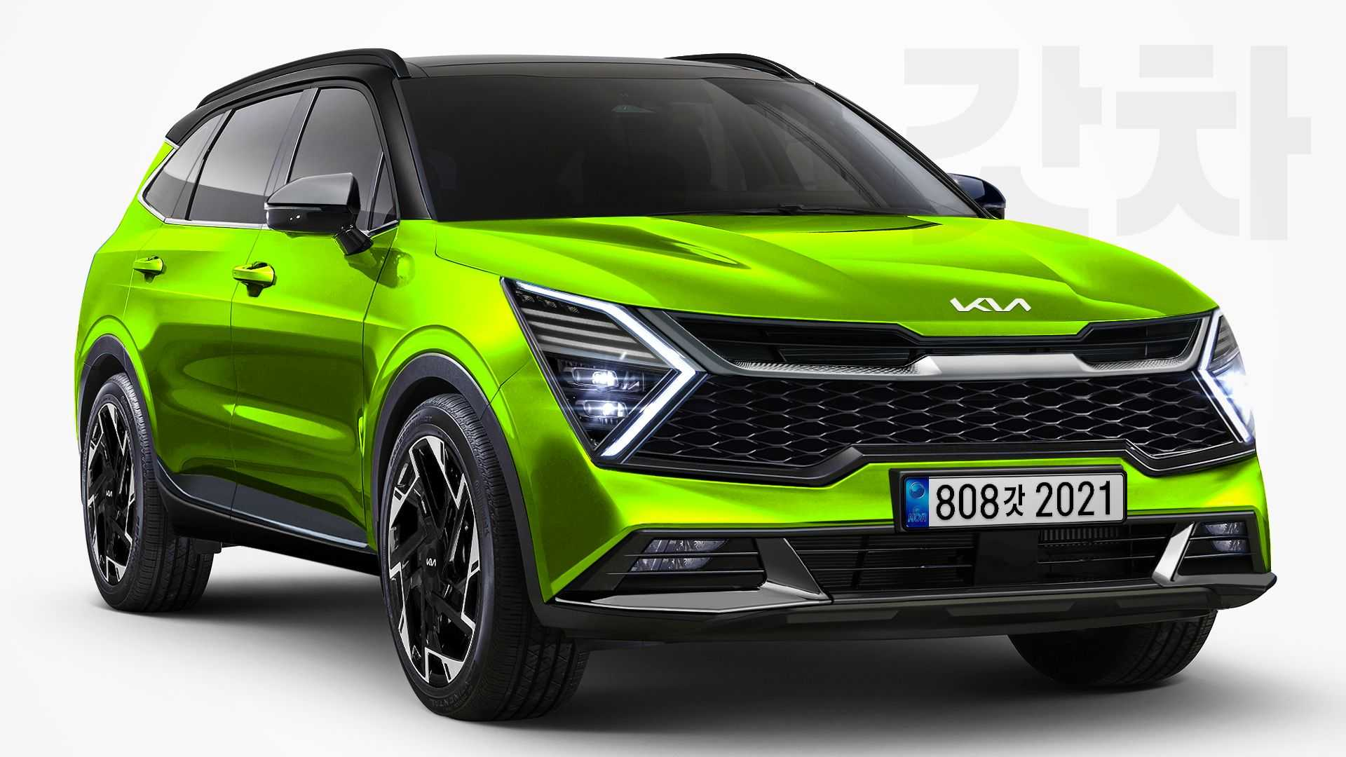 Next-Gen Kia Sportage Speculatively Rendered From Latest Spy Shots