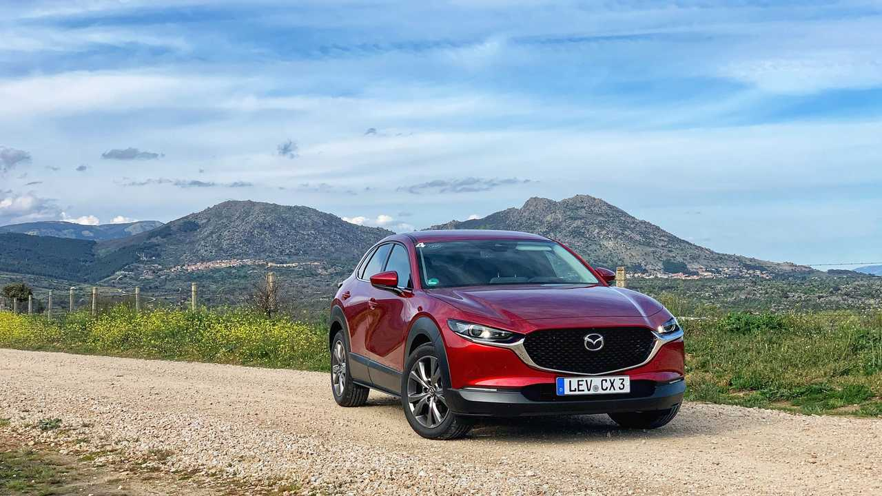 Prueba Mazda CX-30 2021 con el motor e-Skyactiv X
