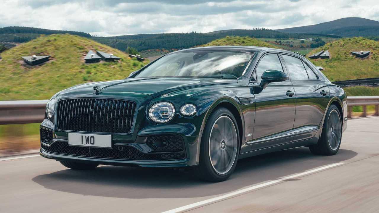 Bentley Flying Spur V6 híbrido enchufable