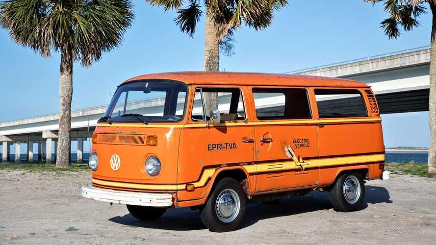 Volkswagen решил напомнить о своем электромобиле из 1970-х