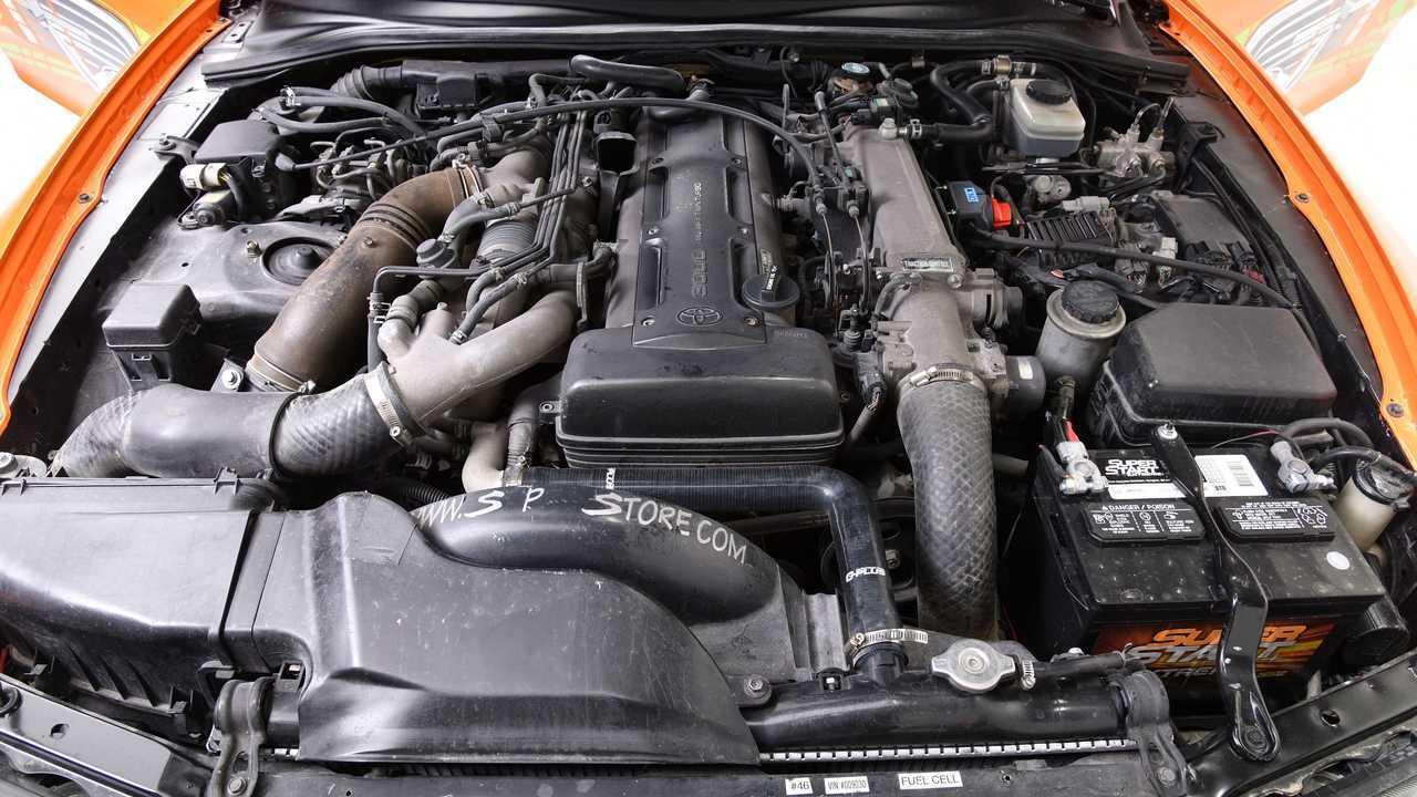 Mesin Lelang Toyota Supra yang Cepat Dan Marah