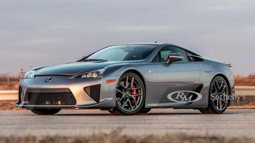 A subasta un Lexus LFA muy especial, con menos de 800 kilómetros